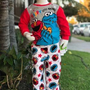 2 piece set Elmo pijamas
